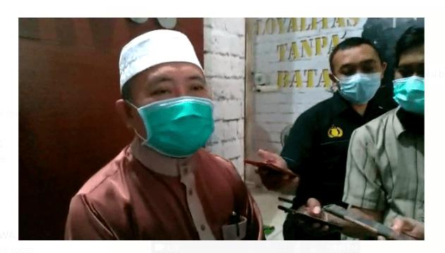 DIPANGGIL-DIKLARIFIKASI Kepolisian Takmir Mesjid Jami Terkait Haul