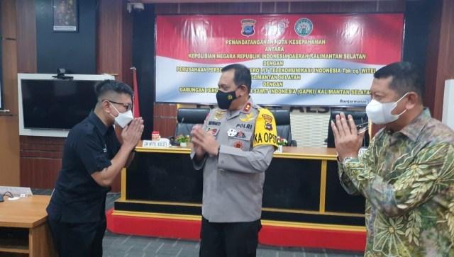 Indosat Melalui Aplikasi 'Asap Digital', Gandeng Polda Kalsel dan GAPKI (2)