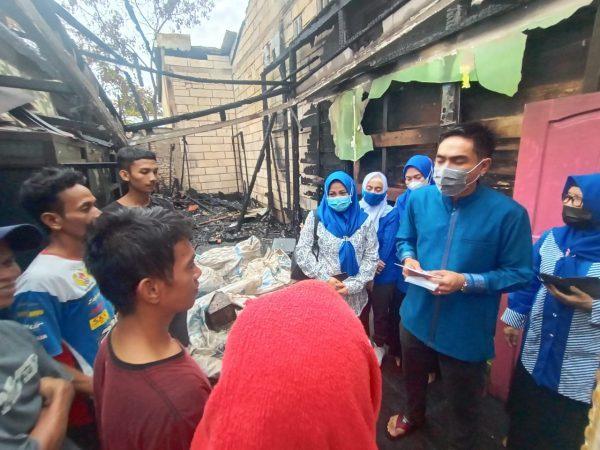 PAN PROVINSI DAN KOTA Salurkan Bantuan ke Korban Kebakaran di Murung Raya