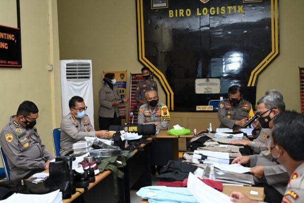 PAPARAN Spesifikasi Teknis dan Sampel Barang Pengadaan Kapor -Diktuk Brigadir Polri