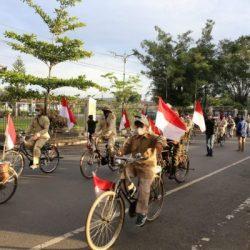 PAWAI ONTEL dan Tabur Bunga di HUT ALRI Divisi Kalimantan