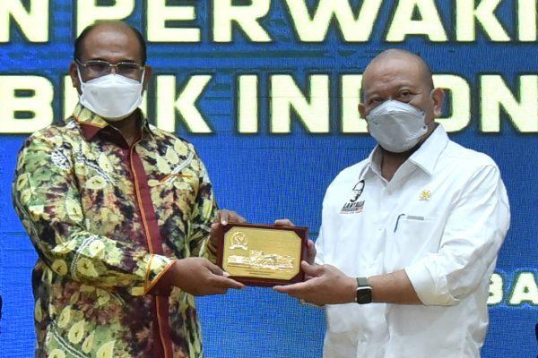 PEJABAT GUBERNUR, Safrizal Titip Aspirasi Melalui DPD RI