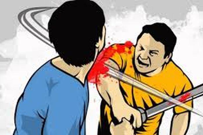 BACOK Kawan Seusai Pesta Miras, Pelaku Sempat Kejar-kejaran dengan Polisi di Dalam Pasar