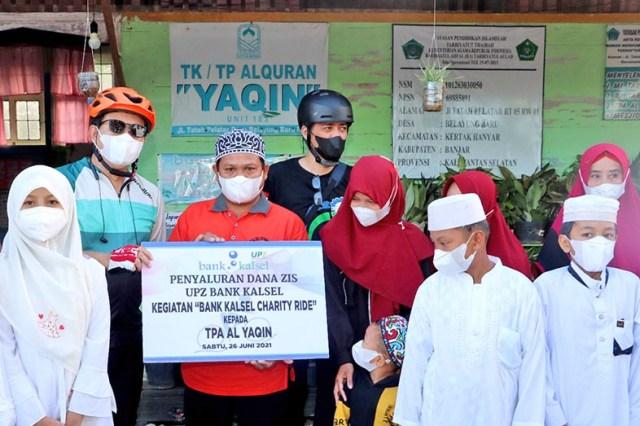 BANK KALSEL Charity Ride, Gowes Santai Sambil Beramal (3)