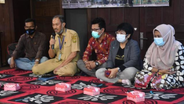Forum Grup Discussion (FGD) soal program Virtual Tourism di Rumah Anno, Samping Siring Menara Pandang, Banjarmasin Tengah (2)