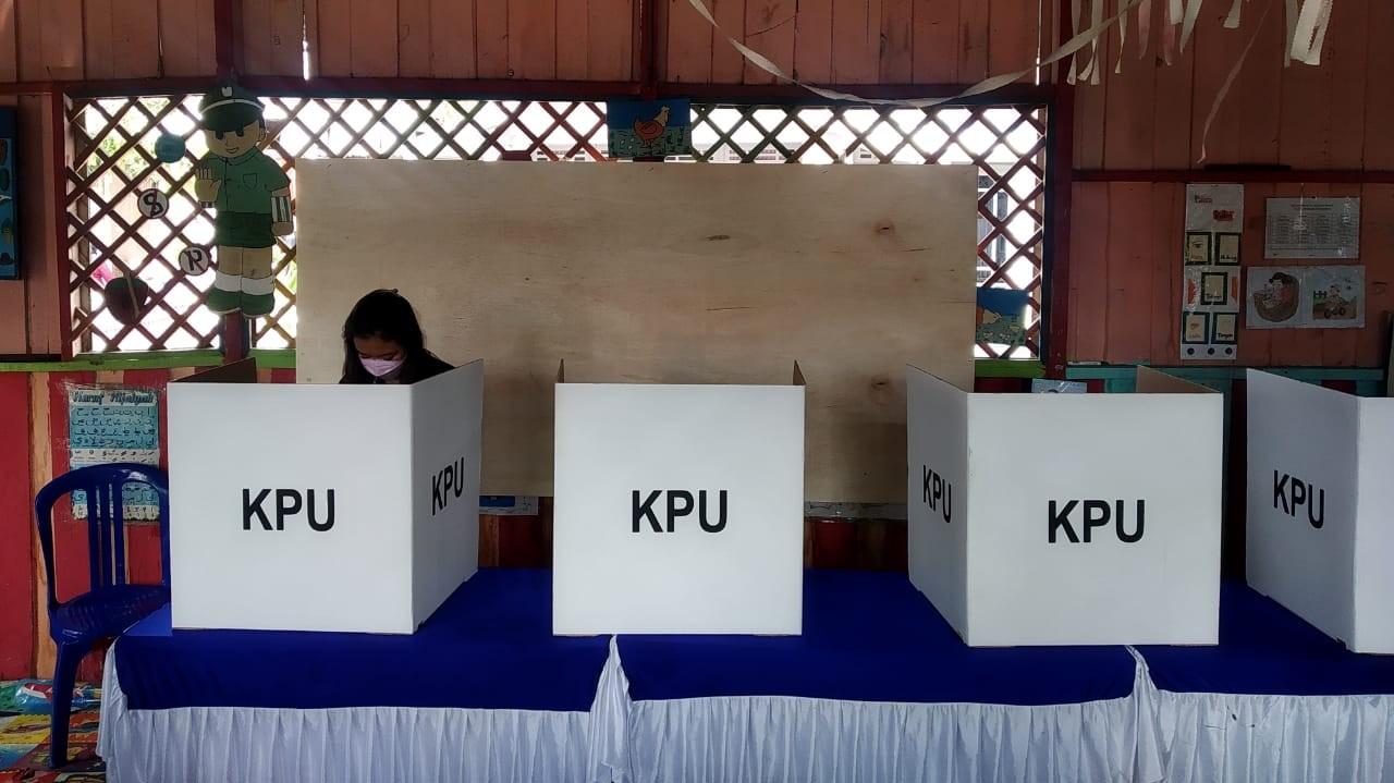 TARGET DI ATAS 60%, Pemilih PSU Pilgub di Bansel