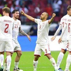 TIM DINAMIT Denmark Meledak, Libas Wales 4-0