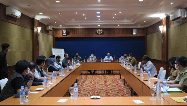 Rapat koordinasi jelang PSU Pilgub Kalsel