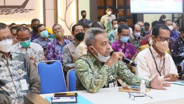Rakor yang dilaksanakan di Aula Kayuh Baimbai Balai Kota Banjarmasin (2)