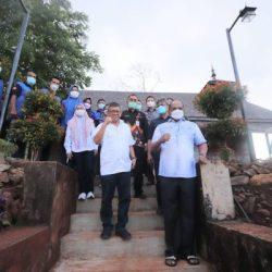 FASILITAS Tahura Lebih Ditingkatkan dan Wisatawan Diingatkan Pejabat Gubernur