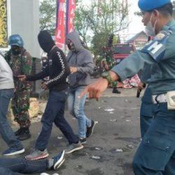 PRAJURIT Lanal Banjarmasin Saling Tembak-Menembak dengan Penyerang Markas Hingga Pelaku Dilumpuhkan