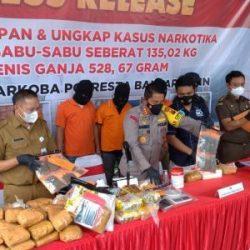 """KASUS 135 KILOGRAM Sabu Berawal dari Dalam Terrano HIngga Penggerebekan """"Gudangnya"""" Dilakukan Polresta Banjarmasin"""