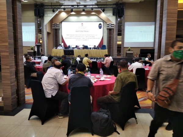 BERLANJUT ke Tingkat Provinsi Rekapitulasi Suara PSU Pilgub Kalsel