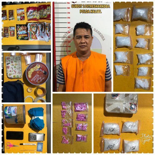 SEBUAH RUMAH Penyimpanan Narkotika di Kuin Selatan Digerebek Polda Kalsel