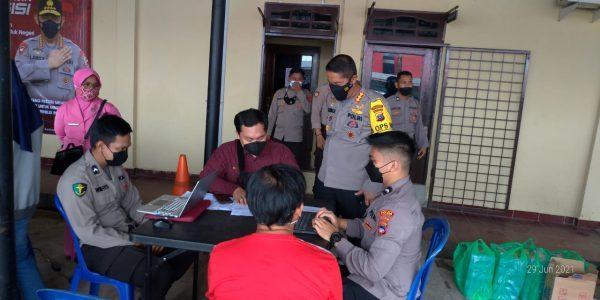 GERAI Vaksinasi Covid-19, Polresta Banjarmasin Sasar Masyarakat