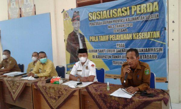 POLA TARIF Pelayanan Kesehatan Diterapkan RSUD Ulin Banjarmasin dan Disosialisasikan