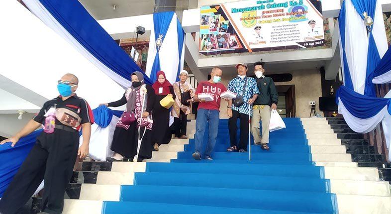 BELUM RAMAH Disabilitas Balai Kota Banjarmasin