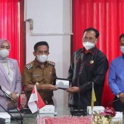 KUNJUNGAN Komisi III DPRD Tabalong Diterima Wakil Walikota Banjarmasin
