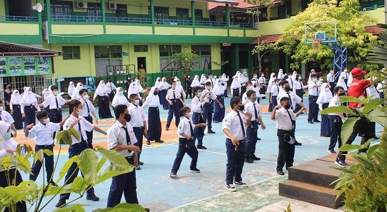 PTM TETAP Dilanjutkan di Banjarmasin Meski Ditemukan Siswa dan Guru Terpapar Corona