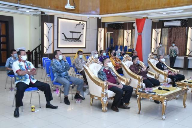 Pemerintah Kota (Pemko) Banjarmasin menggelar audiensi dengan Kepala Pusat Inovasi Kota dan Komunitas Cerdas (2)