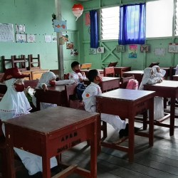 KEBERANIAN Ibnu Sina Jalankan PTM di Tengah Pandemi COVID-19