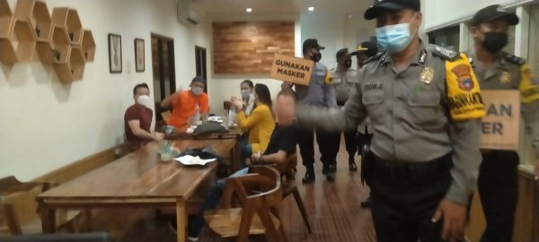 ADA 10 CAFE di Wilayah Banjarmasin Tengah Disasar Polisi