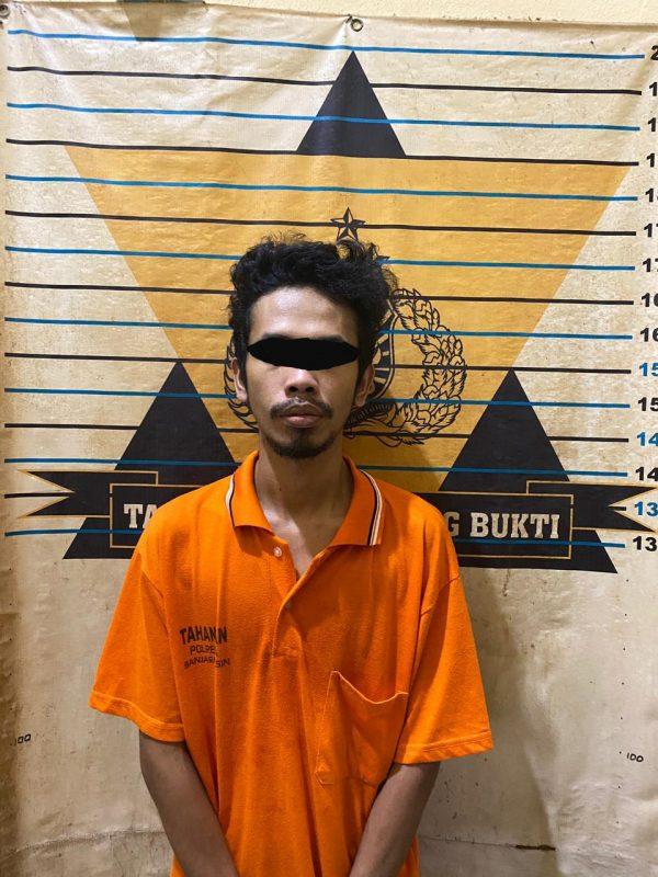DIGELANDANG Polisi karena Bungkusan Plastik Bekas Milo