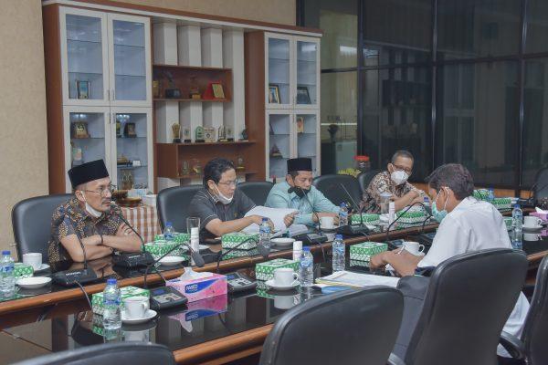 RAKER Sinkronisasi dan Harmonisasi Rencana Pembangunan Tahun Anggaran 2022 dengan Bappeda Kalsel