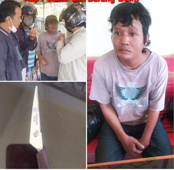 """PELAKU 'Kasus Berdarah"""" di Terminal Taksi Kota Banjarmasin Diringkus"""