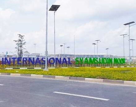 LAHAN Akses Baru Menuju Bandara Syamsudin Noor Dibebaskan