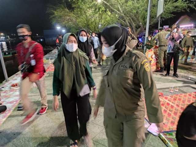 operasi yustisi Oleh Pemko Banjarmasin beserta Satpol PP (2)
