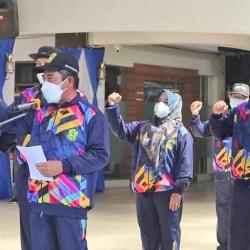 KONTINGEN POPDA Kota Banjarmasin Dilepas Wawali Arifin