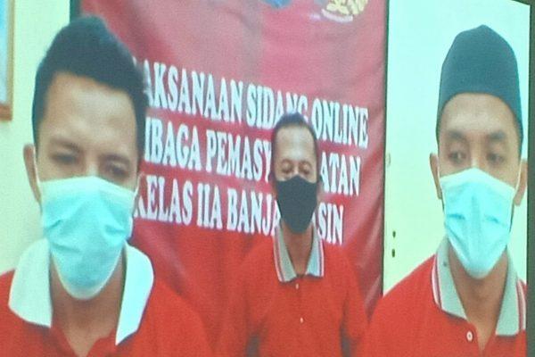 MANTAN OKNUM Pejabat Tilep Dana BRI Unit A Yani Banjarmasin, Diganjar 5 Tahun Penjara