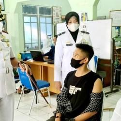 BERGERAK TNI AL-LANAL Banjarmasin Gencarkan Servak Covid-19 Warga Pesisir