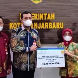 CSR BANK KALSEL Sokong Eksistensi UMKM Banjarbaru di Tengah Pandemi