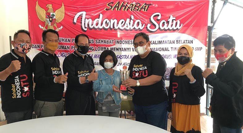 DIKUKUHKAN Sahabat Indonesia, Lomba Nyanyi Virtual Nasional Sukses