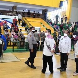 KEMBALI DIGELAR Vaksinasi Massal di Banjarmasin