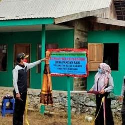PERTAMA, Rumah Isolasi Mandiri di Desa Pandan Sari Diresmikan