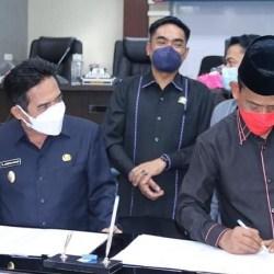 RAPERDA PERUBAHAN APBD Disepakati Pemko dan DPRD Banjarmasin