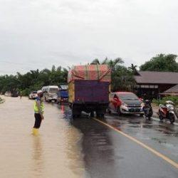 BANJIR LAGI !!! 600 KK Lebih di Satui Terkepung, Diselamatkan ke Pengungsian