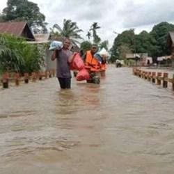 BANJARMASIN SIAP Balas Budi Bantu Korban Banjir Kalteng