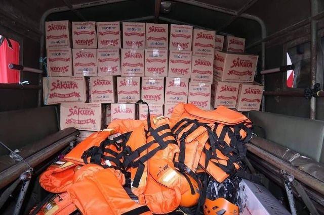 BERANGKATKAN Relawan dan Bantuan, Pemko Banjarmasin Peduli Banjir Kalteng (2)