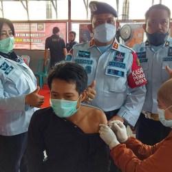 DIJENGUK KELUARGA, Harapan Warga Binaan di Lapas Teluk Dalam Banjarmasin