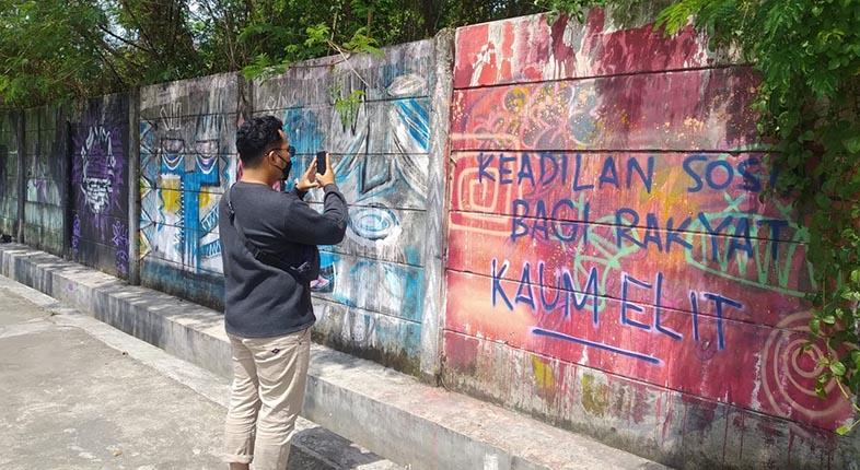 FESTIVAL MURAL Bakal Digelar di Tembok eks-Pelabuhan Martapura Lama