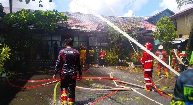 JIWA SOSIAL Tinggi, Alasan Terobos Pembagian Zonasi Penanganan Kebakaran di Banjarmasin