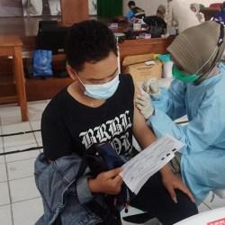 MULAI DIGALAKKAN di Banjarmasin, Vaksinasi Merdeka