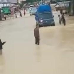 KEMBALI MENGGUYUR Curah Hujan Tinggi, Masyarakat Diharapkan Waspada Ancaman Banjir