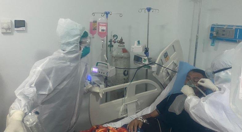 TERSISA 6 Pasien Covid di RSUD Sultan Suriansyah