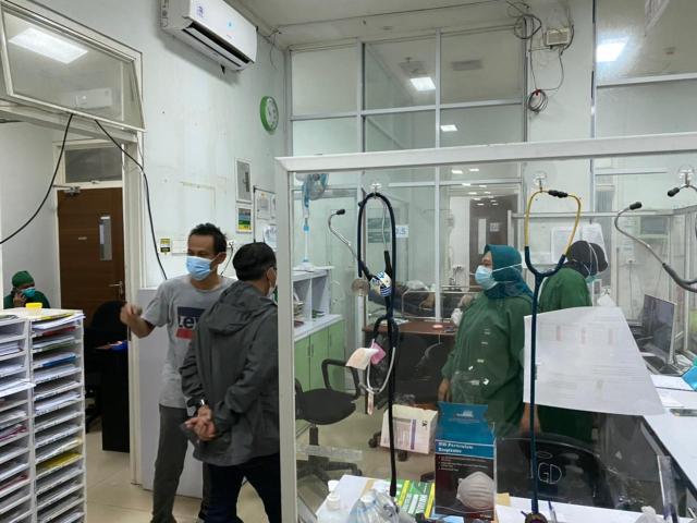 TERSISA 6 Pasien Covid di RSUD Sultan Suriansyah (2)