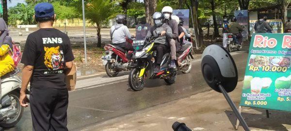 RELAWAN Banua Rescue Bersama Fans Macan Polresta Banjarmasin Penggalangan Dana Korban Banjir di Kalteng